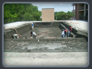 Southern water shapes custom pools atlanta georgia for Swimming pool installation companies